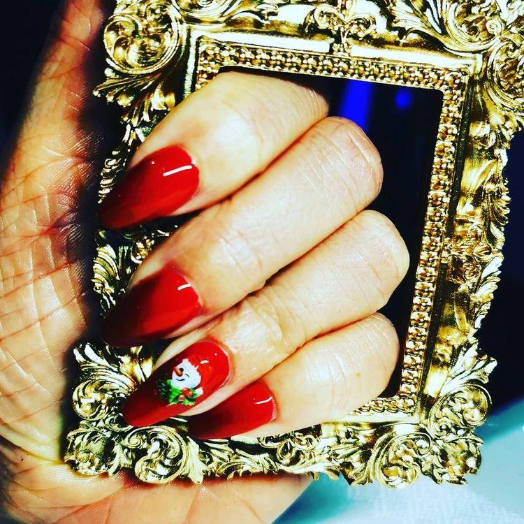 Ram för nagelbilder