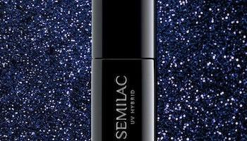 342 SEMILAC SHIMMER NAVY BLUE 7ML