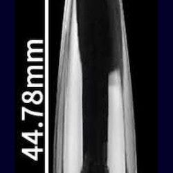 Nya trendiga full cover coffin tip med C-kurva clear 500st