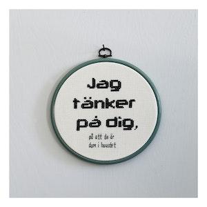 JAG TÄNKER PÅ DIG...