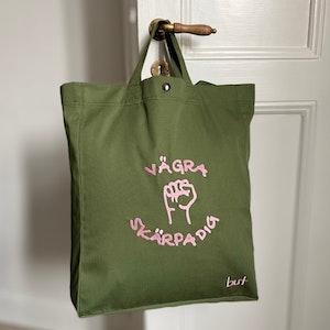 Väska - Vägra skärpa dig - Grön