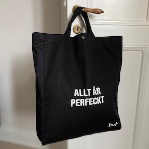 Väska - Allt är perfeckt - Svart