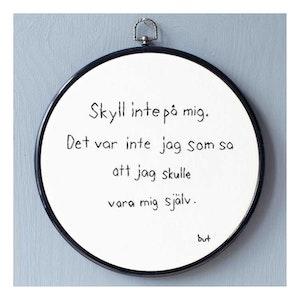 SKYLL INTE PÅ MIG...