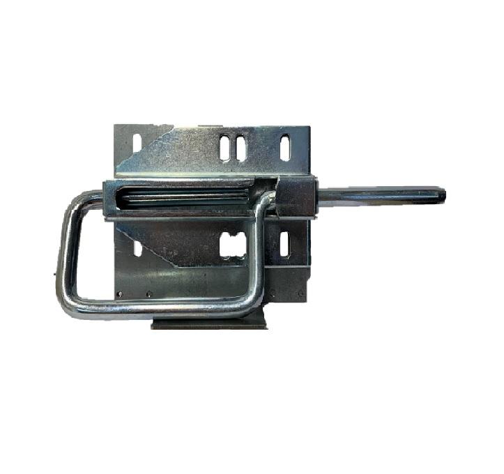 Invändig låsregel med hänglåsbleck