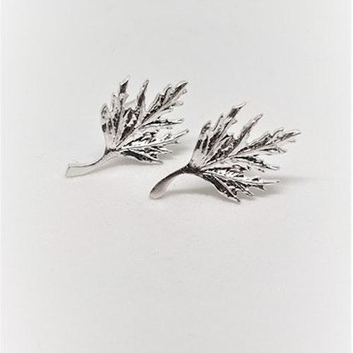 Örhängen Musöra på stift silver