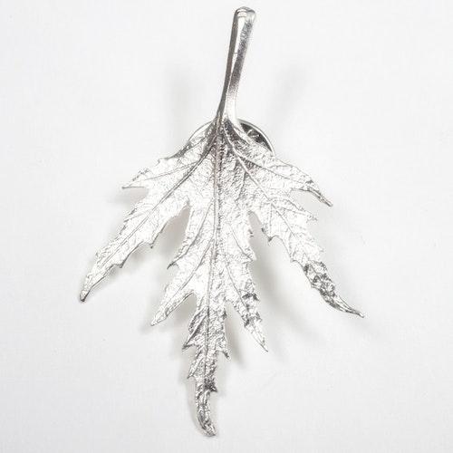 Ornässmycket pin silver
