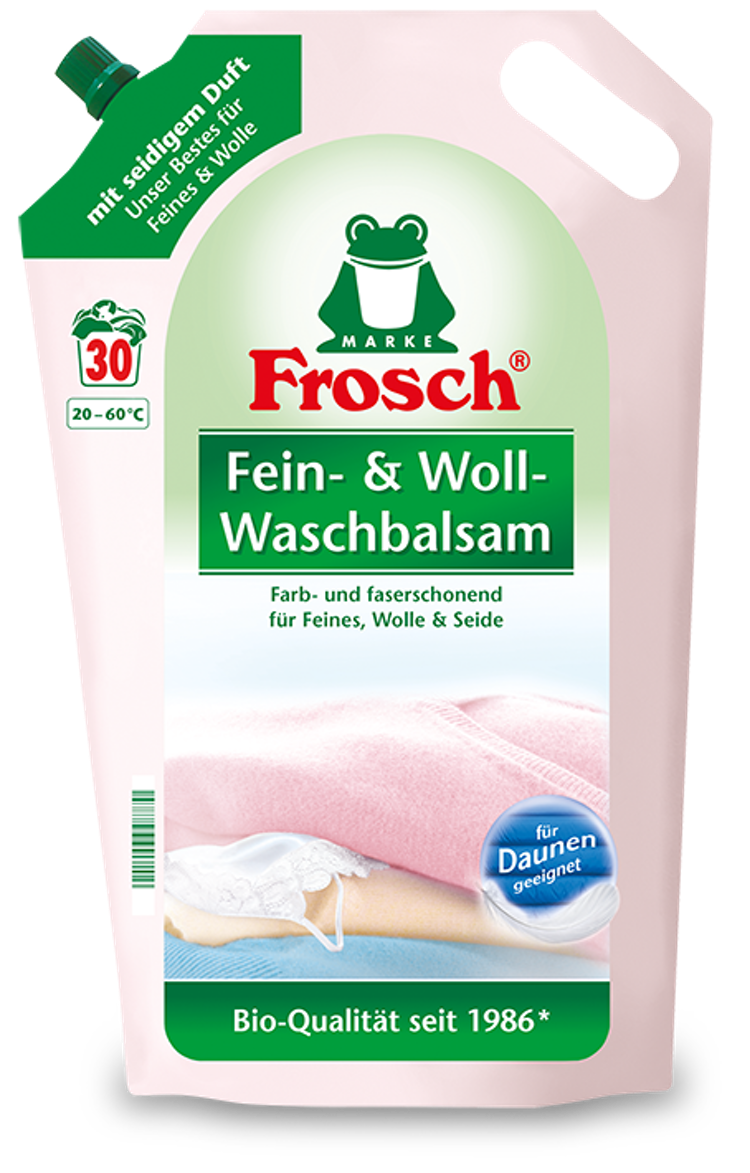 Tvättmedel för ull och känsliga kläder