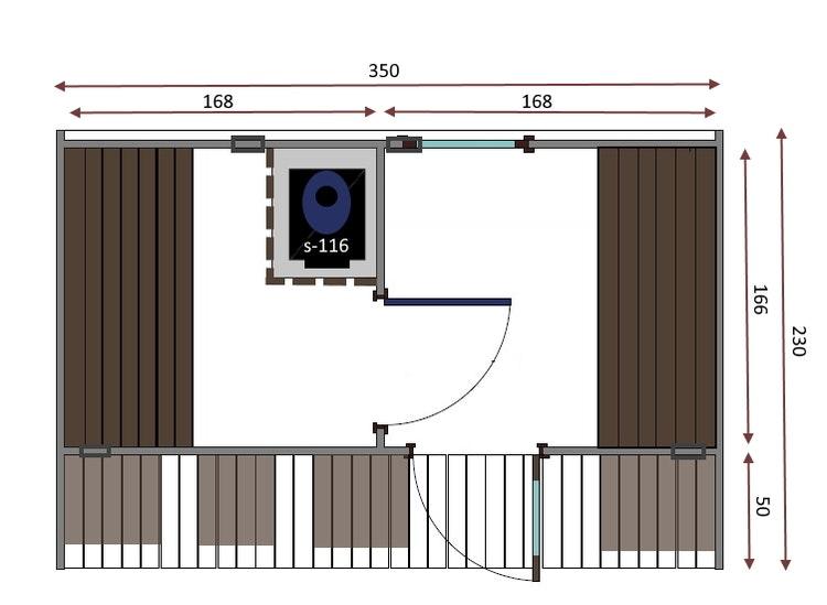 OVAL BASTU 3,5 m