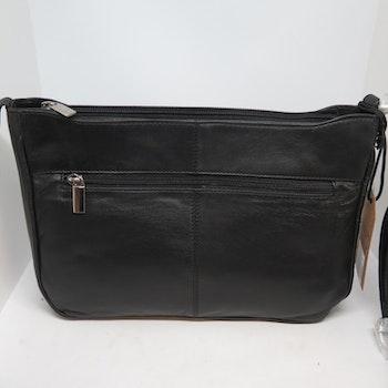 Handväska skinn