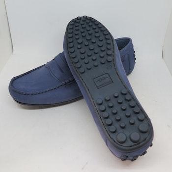 Marstrand Driving Loafer Blå