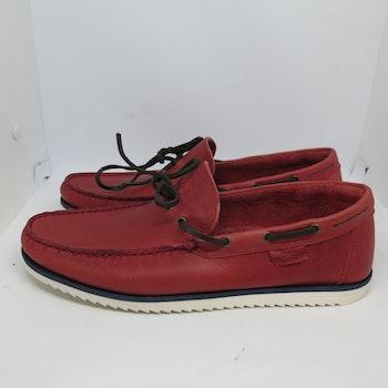 Marstrand Deck Loafer Röd
