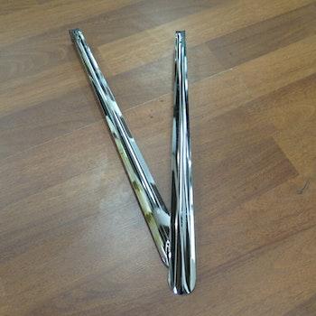 Skohorn Metall 60 cm  2 pack