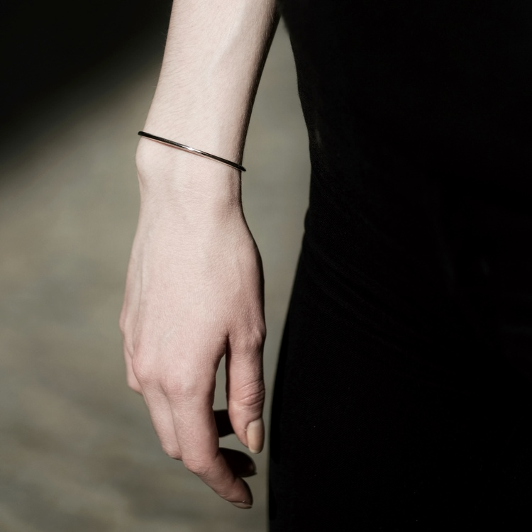 Stockholm jewels Naturell Bracelet, simple and elegant to wear as it is or together with you other favorite jewellery