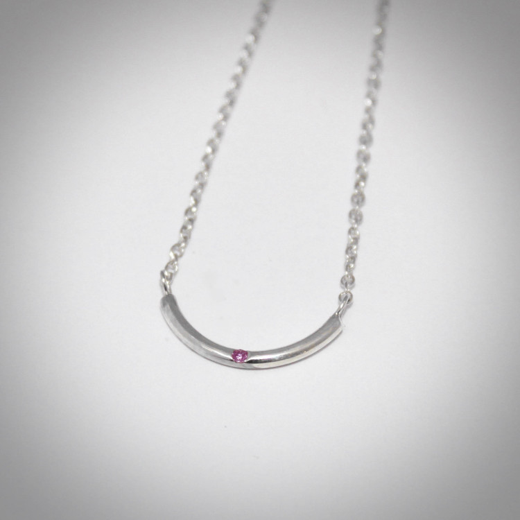 Necklace PINK DOT