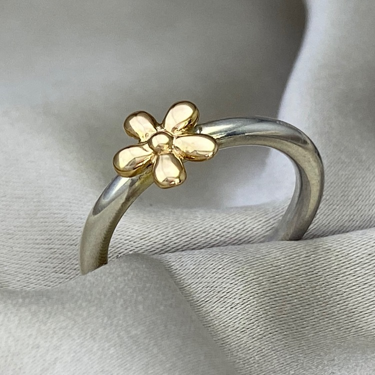 Flower Ring Gold/Silver