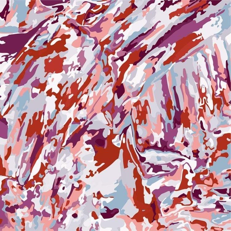 Scarf Modern Camouflage. Design Johanna Olivia