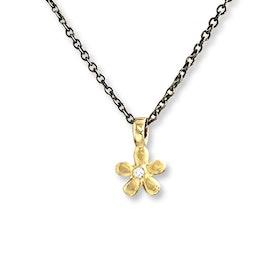 Halsband Flower Gold Duo