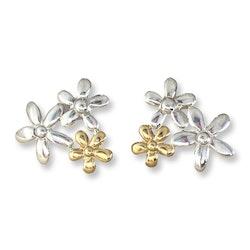 Flower Bouquet Silver/Gold