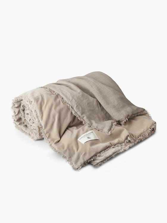 Nomad Överkast Desert Beige/Lava Grey  260X260 cm