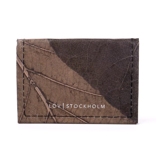 Bi-fold korthållare - Charcoal