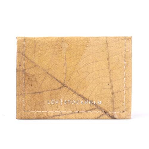 Bi-fold korthållare - Natural