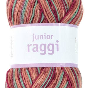 Junior raggi 100g -Red currant Print