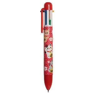 Penna 6 färger