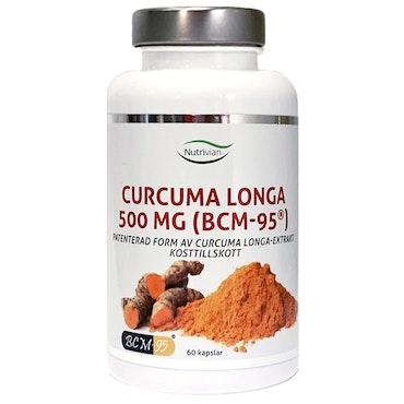 Nutrivian Curcuma Longa 500 mg (BCM-95®)