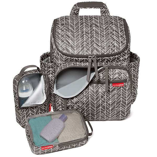 Skip Hop Forma Ryggsäck Grey Feather DEMOEX Amvina Outlet
