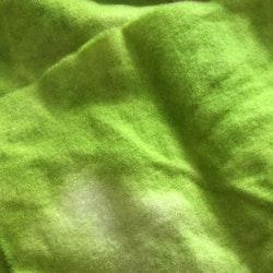 Vadmal 22x25 limegrön handfärgad