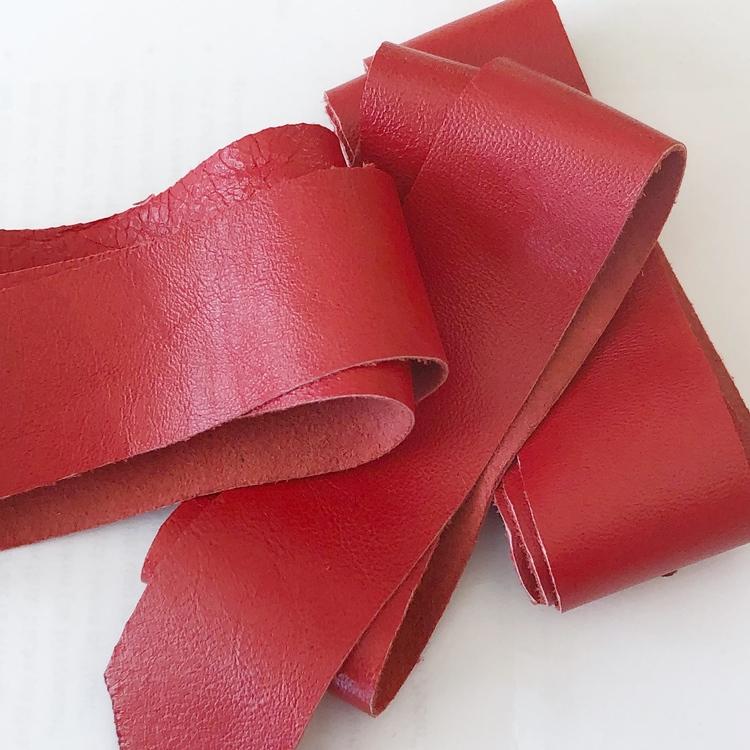 Lammnappa röd