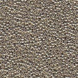 Miyuki seedbeads 11/0 duracoat galvanized silver