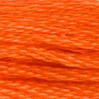 Pärlgarn nr 8 orange 947
