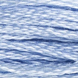 Moulinégarn blå 3840