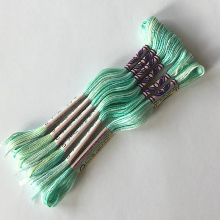 Color variations ljusgrön/blå/turkos 4040