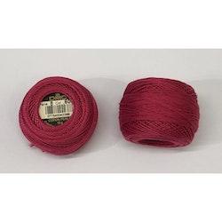 Pärlgarn nr 8 rosa 600
