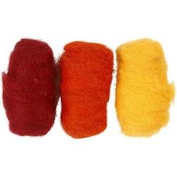 Kardflor 3x10g gul/orange