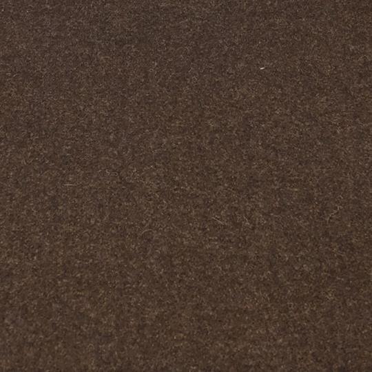 Vadmal 25x25 cm mörkbrun melerad