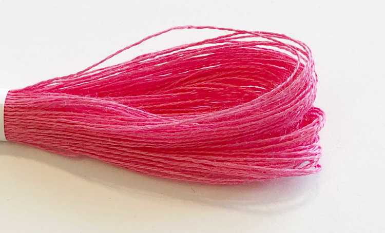 Lingarn 40/2 rosa 25