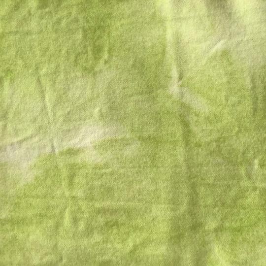 Vadmal 22x22cm limegrön handfärgad