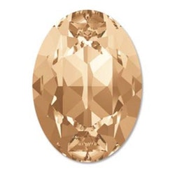 Swarowski Fancy oval 4120 golden shadow