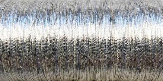 Metallictråd  371 silver