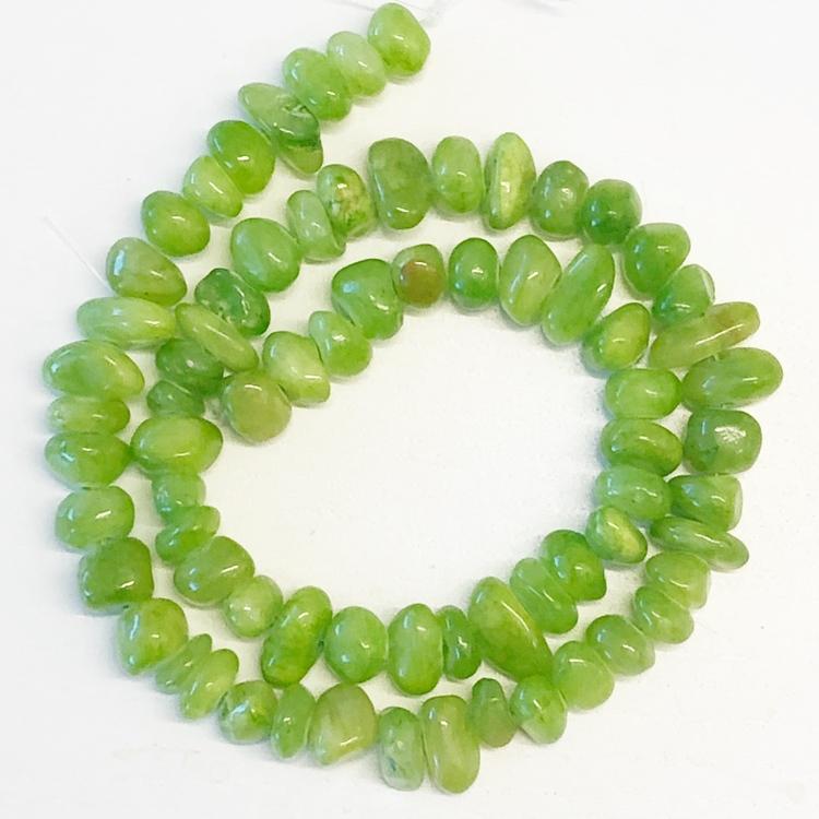 Stenpärla grön