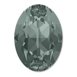 Swarowski Fancy oval 4120 black diamond