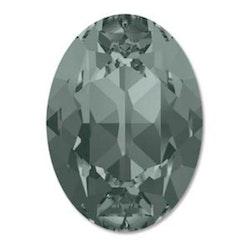 Swarowski Fancy oval 4120 black diamond