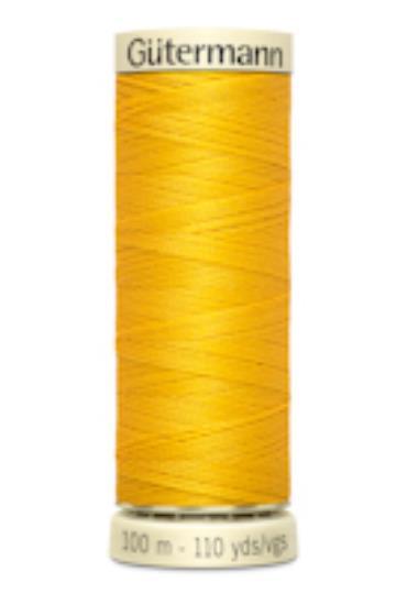 Sytråd polyester gul 106