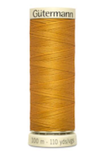 Sytråd polyester gul 412
