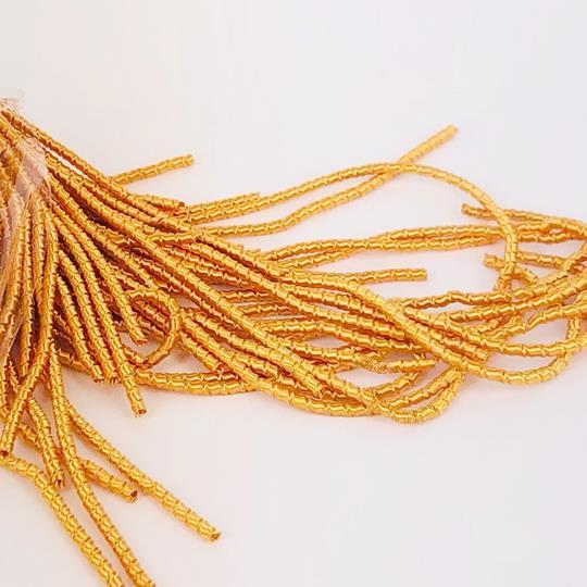 French wire cut 2mm honungsgul