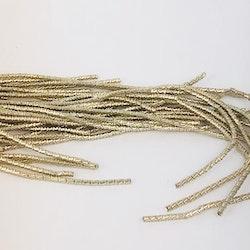 French wire cut 1mm blekguld