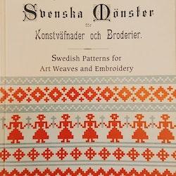 Svenska mönster för Konstväfnader och Broderier
